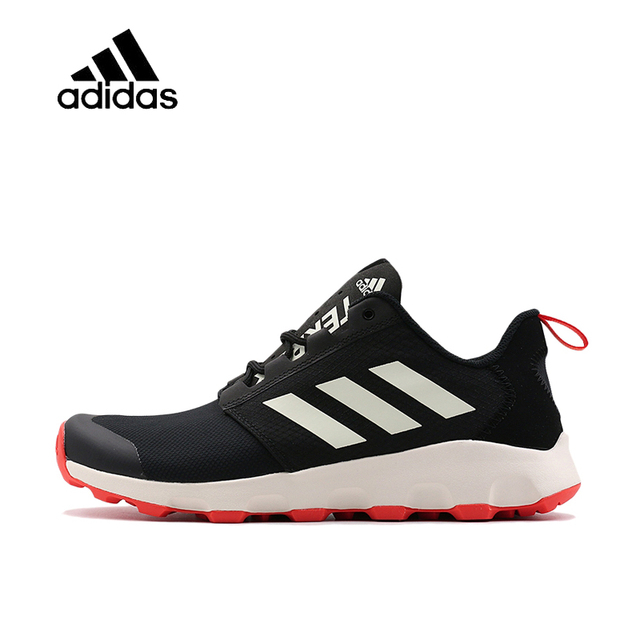 26ad2a4a31c Official Original Adidas TERREX VOYAGER DLX Men s Hiking Shoes Outdoor  Sports Sneakers Breathable Sports Outdoor Walking