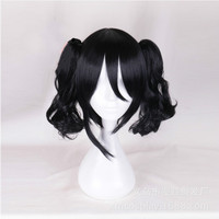 High quality LoveLive! Love Live Cosplay Wig Nico Yazawa Costume Play Adult Wigs Halloween Anime Hair+ wig cap