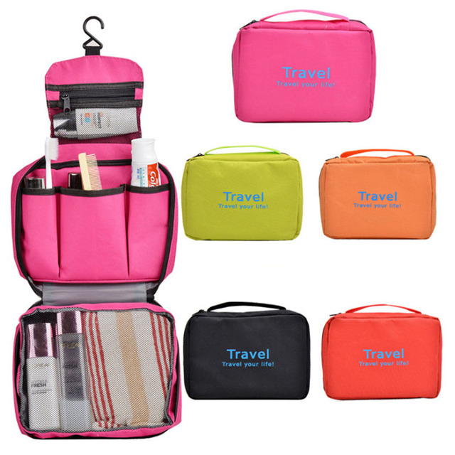 03bfb51017b434 Outdoor Sport Portable Multifunctional Organizer traveling bag Woman Man  Toiletry Makeup Kit Storage Bag Waterproof Cosmetic Bag