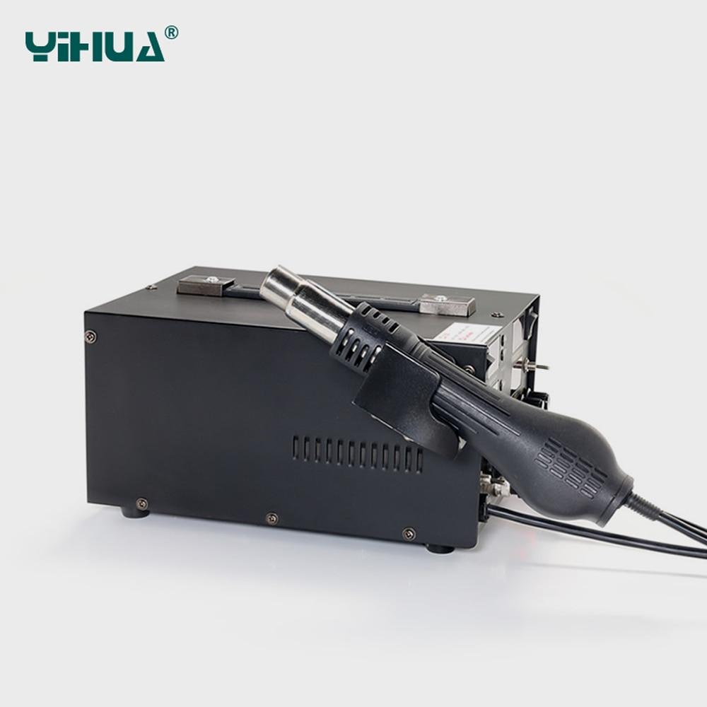 YIHUA 853D 5A 3 IN 1 SMD DC tápegység Forrólevegős pisztoly - Hegesztő felszerelések - Fénykép 4