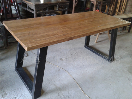 Tavolo Stile Industriale : Americano mobili olmo stile industriale dellannata ferro tavolo