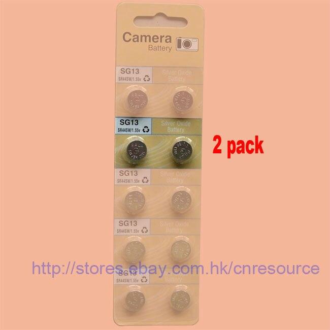 2 Х SG13 SR1154 44 <font><b>357</b></font> SR44SW Оксида Серебра батареи