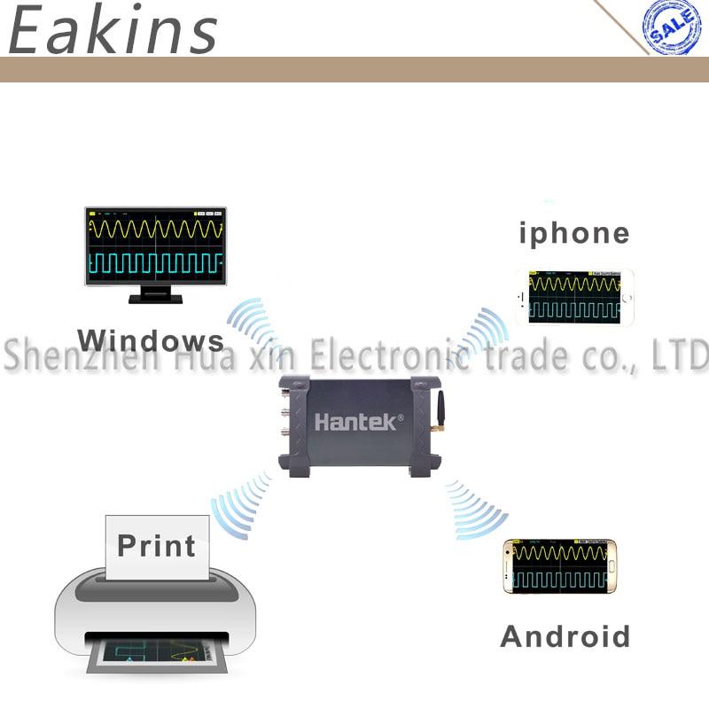 Hantek osciloscópio virtual de IDS1070A 2 canal 70 MHz 250MSa/s conexão WI FI sem fio para iPhone/iPad/Windows - 5