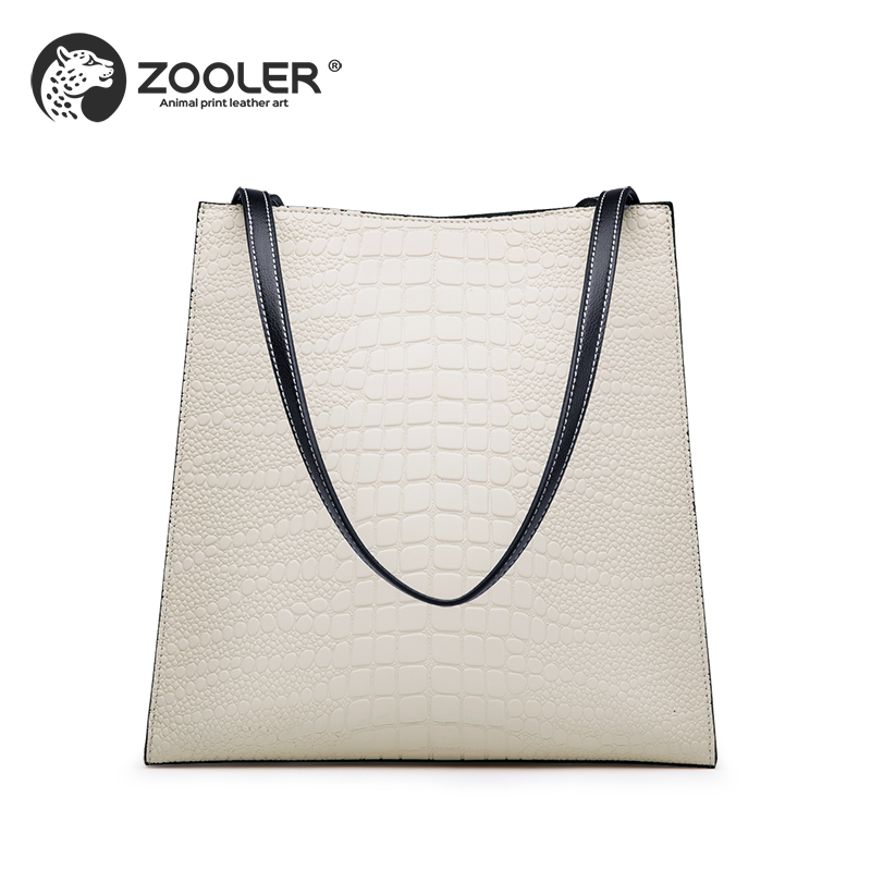 New Middle-aged lady genuine leather woman bag ZOOLER 2019 luxury designer bag handbag large high quality bolsa feminina #M506 zooler 2017 new quality