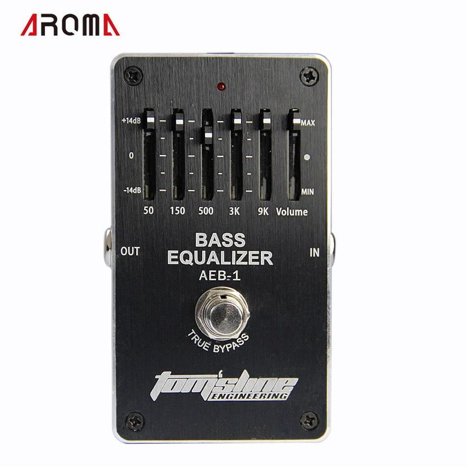 Aroma AEB-1 basse 5 bandes EQ exclusif pour basse électrique nouveaux effets de guitare