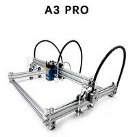 A3 Pro Mini Laser Cutting Machine 5500wm/3500wm/5500mw/7w/15w Laser DIY Laser Head Machine Engraver Wood Cutting PWM US Plug