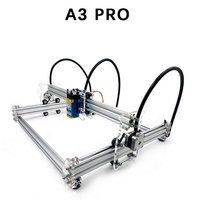 A3 Pro Mini Laser Cutting Machine 5500wm/3500wm/5500mw/7w/15w Laser DIY Laser Head Machine Engraver Wood Cutting PWM US Plug