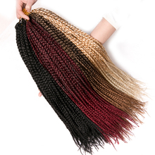 VERVES Box Braids Hair Synthetic 6 pack 14 inch and 18 inch