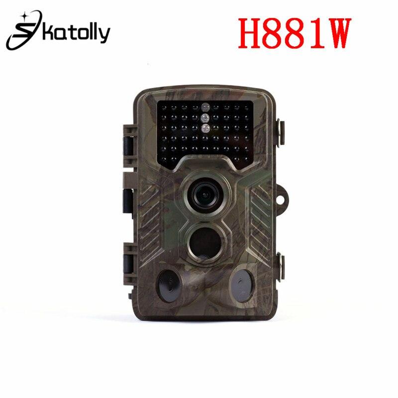 Skatolly H881W HD 1080P Scouting Hunting Trail Camera Night Vision Infrared Trail Camera 0.2S Trigger Time IR Hunting Camera краска для волос u s sources 881 882 883 884