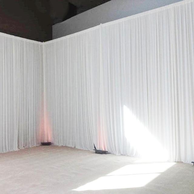 Свадебные Декорации занавески Вечерние Декорации под заказ для сцены Прозрачные шелковые драпированные украшения для сцены вечерние занавески