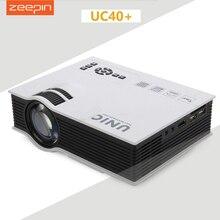 Мультимедийный unic пико кинотеатр vga full домашний hdmi проектор видео плеер