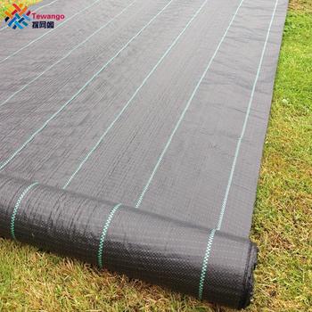 Tewango 100gsm wytrzymała tkanina kontrolująca chwasty okrywowa membrana okrywowa 2x 5 M 1x10M tanie i dobre opinie Odcień żagle obudowa nets Hdpe Ground Cover Membrane Nie powlekany