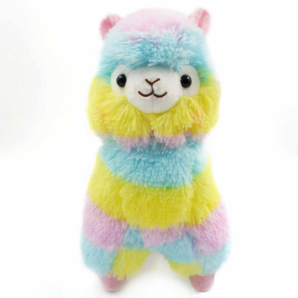 13CM Colorful Kawaii Alpaca Llama Arpakasso Soft Plush Toy Doll Gift Cute Toys Valentines Day Gift Toys For Girls Children FE14d
