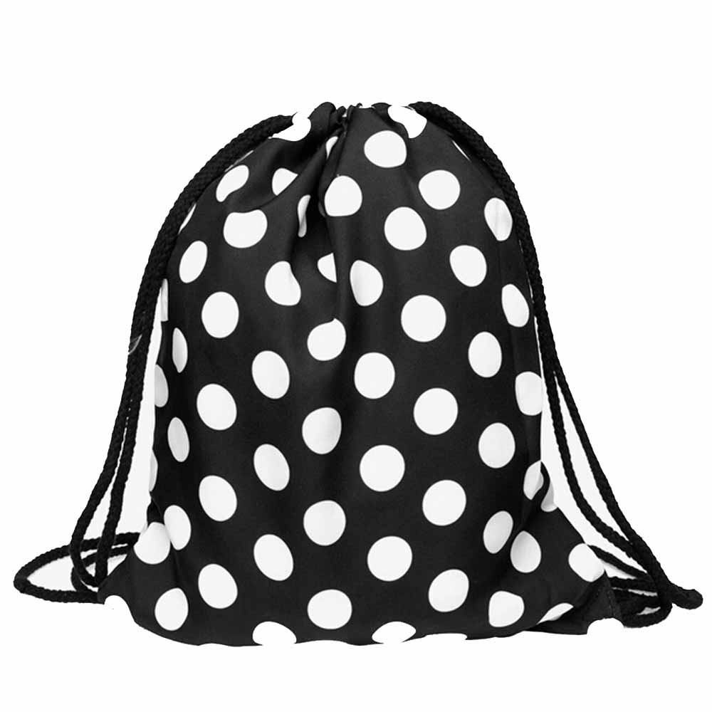 Shocking Pink Pin Up Cop Drawstring Backpack Sports Athletic Gym Cinch Sack String Storage Bags for Hiking Travel Beach