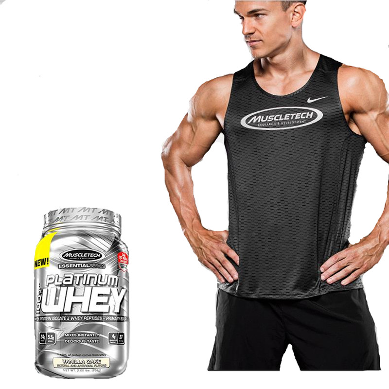 Brand name muscletech whey protein powder suplemento muscular nutrition supplement protcin strengthen immunity delaying senescen image