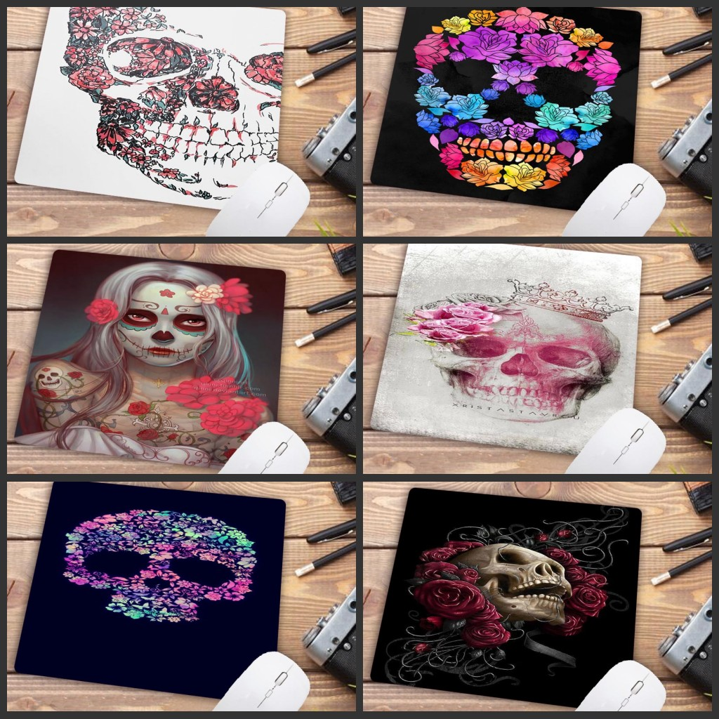 Mairuige Big Promotion Custom High Speed Skulls Vintage Stylish Waterproof  Gaming Mouse Pad  Rectangle Mousepad 220mmX180mm
