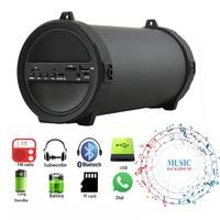 HFES New Wireless Deep Bass Bluetooth Outdoor Speaker Power Bank 10W Big Power HiFi Portable USB Stereo Subwoofer Sound Box