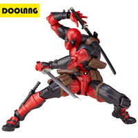DOOLNNG Wolverine / Deadpool Action Figures Toys Collection 16cm PVC Movie Super Hero Character Model Gift For Children DL 998