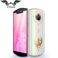 Meitu T9 128GB Sailor Moon Limited Edition 6.01 Full Screen Snapdragon 660 Octa Core Fingerprint Face Unlock 4G Mobile phone