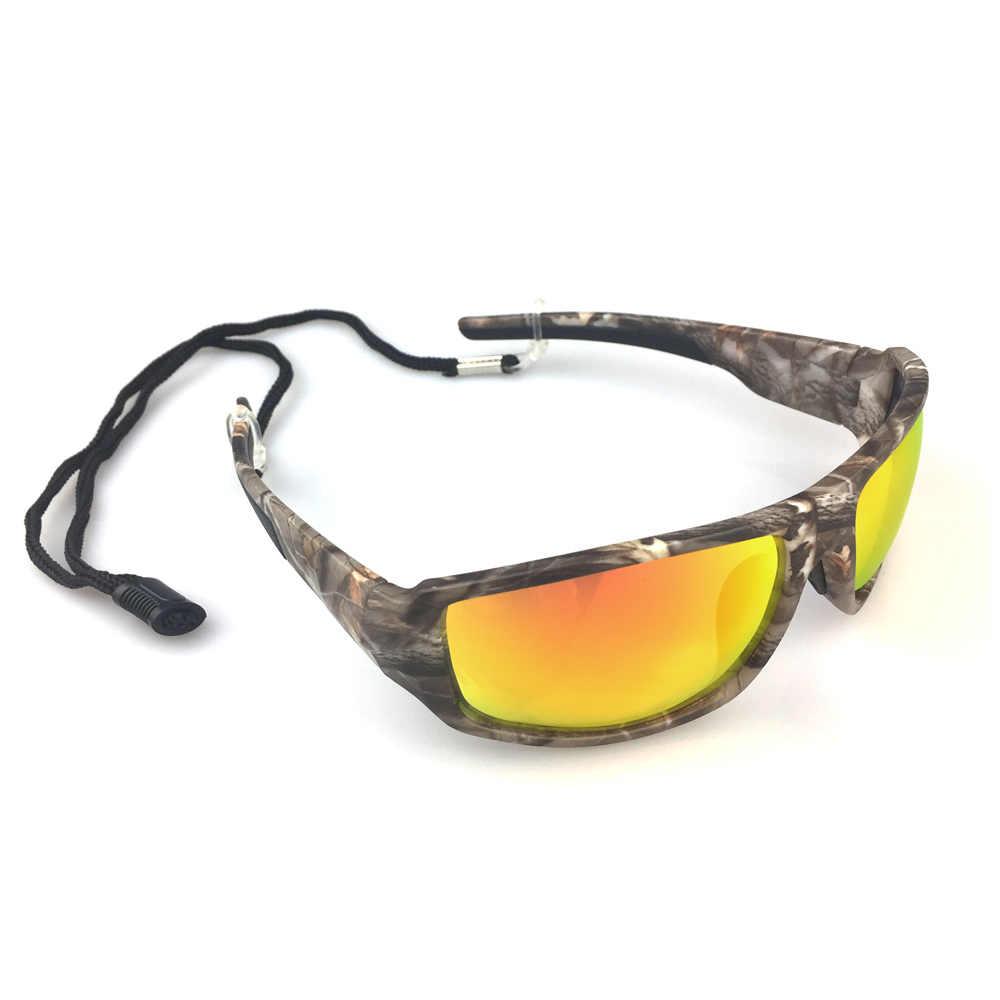 e0ade818a5f0 ... NEWBOLER Fishing Eyewear Camouflage Polarized Sunglasses For Men  Outdoor Sports Goggles Hiking Driving Sun Glasses UV400 ...