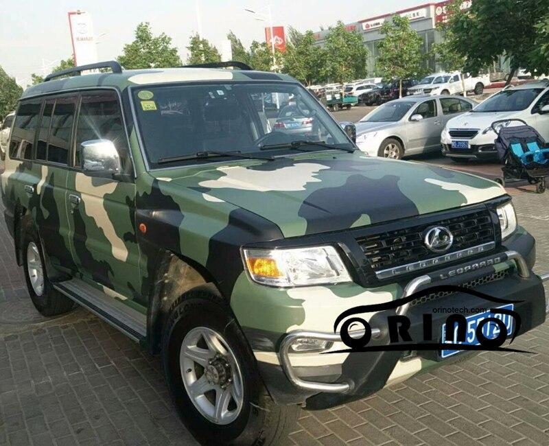 Orino Army Green Vinyl Wrap Car Wrap With Air Bubble Free