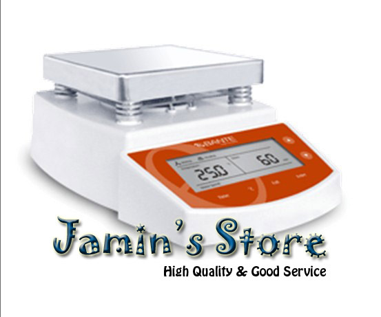 Brand New Digital Thermostatic Hot Plate Magnetic Stirrer Mixer MS400 500ml digital show thermostatic