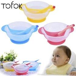 Zastawa stołowa miska na karmę łyżka mierząca naczynia stołowe 3 kolor 3 sztuk/zestaw dzieci dziecko z Naczynia i talerze    -