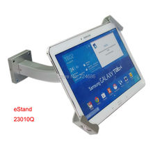 universal 7-10.1 inch tablet security wall mounting for lenovo for Samsung Galaxy Tab 9.7″  lock mount bracket holder