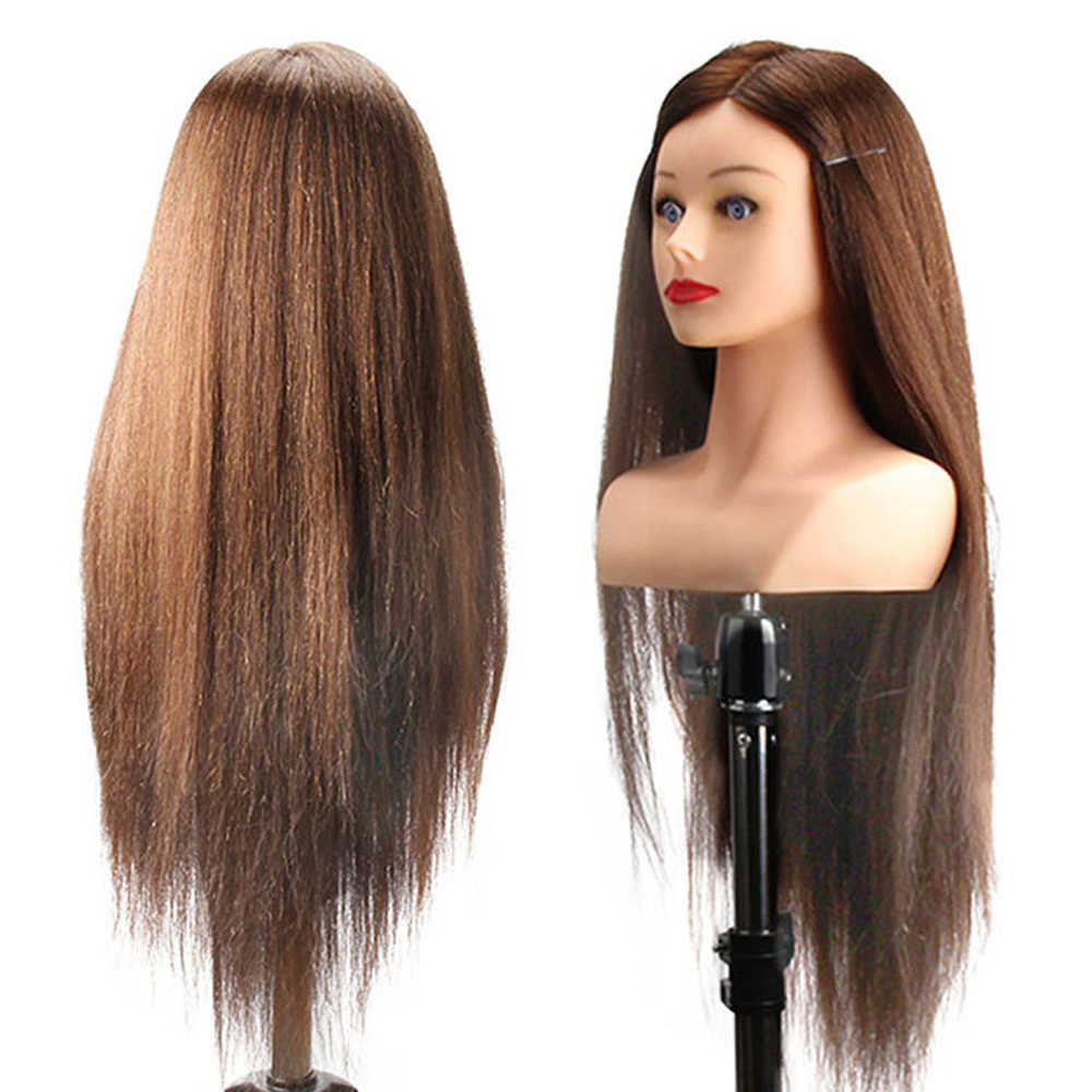 Manikin Head With Shoulder Training Head For Braid Hairdressing Beauty Tools