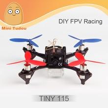 Minitudou FPV Racing Drone Profissional CoretexRc Tiny115 RC Quadcopter With 600TVL 120 Degree Wide Camera On F3 Controller