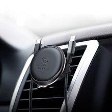Гравитационный Автомобильный держатель для телефона в Автомобиле вентиляционное отверстие крепление без магнитного держателя мобильного телефона Подставка для сотового телефона Поддержка для iPhone CA