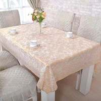 pvc Tablecloth Stripe Dot line Cotton and linen Table Cover Rectangular Elegant Home Party Wedding Decoration