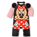 MINNIE STITCH cartoon infant Romper baby clothes romper