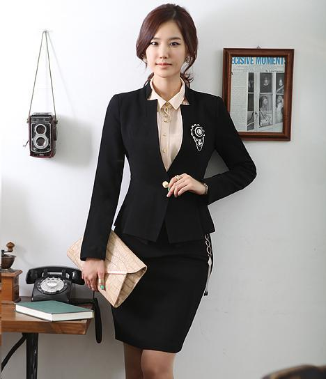 Womens Skirt Suit Sets