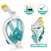 Easybreathing Underwater Snorkel Mask for Adult Kids Easy Breath Scuba Diving Snorkeling Set with Camera Holder Mount for Gopro