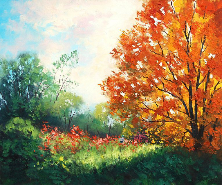 Online Get Cheap Famous Landscape Oil Painting -Aliexpress ...
