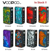 In Stock 177W VOOPOO DRAG 2 Box Mod Power By 18650 Battery Electronic Cigarette Vape Mod Voopoo Mod Vs Drag Mini / Shogun Univ