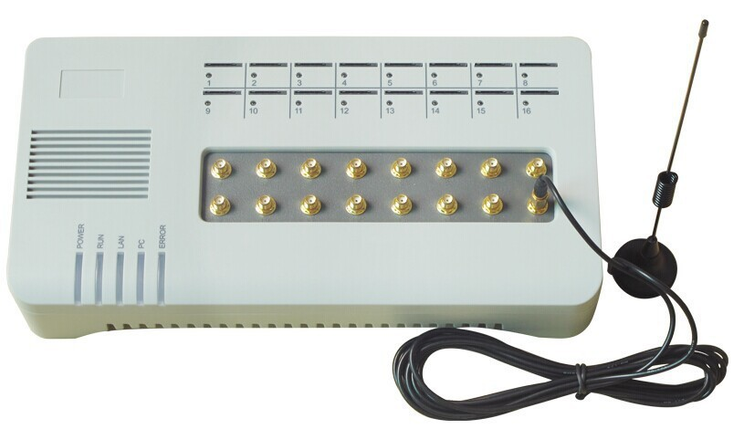 GOIP-16 Quad band VOIP GSM Gateway 16 Channel GOIP Support IMEI change SIM BANK32 IP PBX IP Phone: Quad Band SIP Asteris