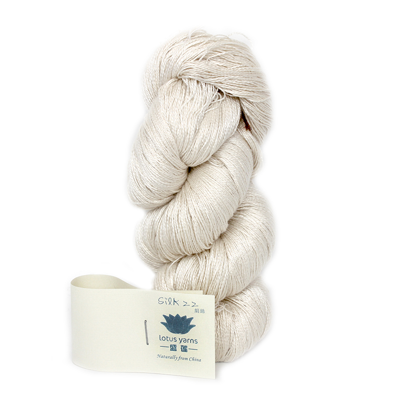 Hand Knitting Yarns : Aliexpress buy g hank undyed yarn pure silk