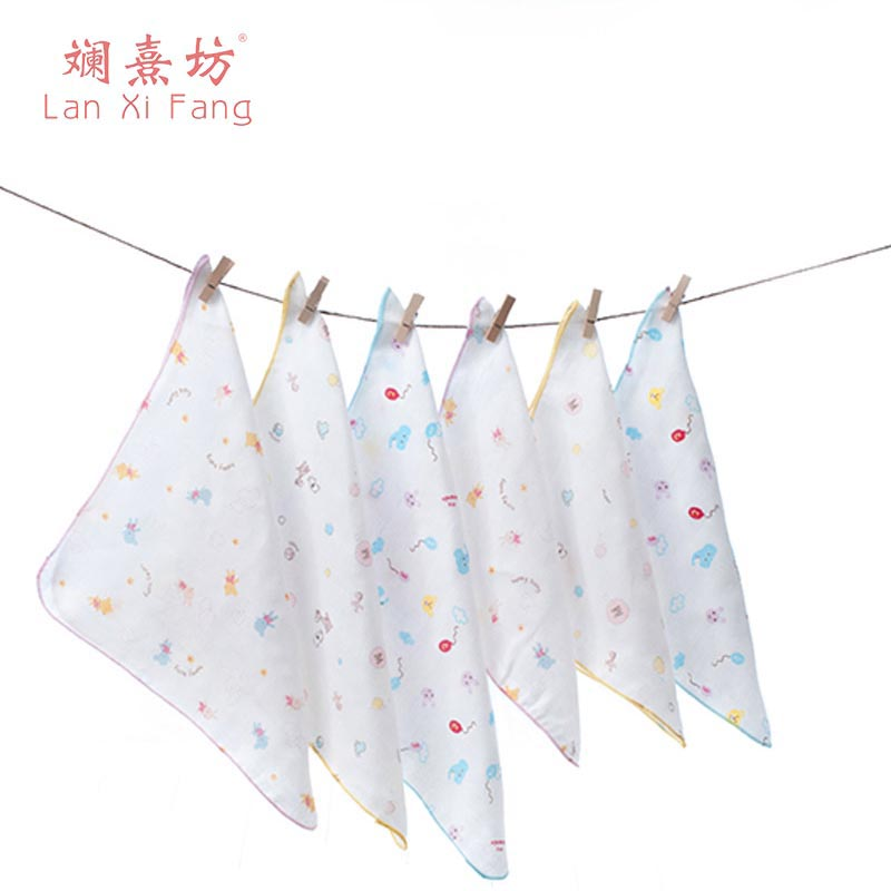 Baby Towel Cute 100% Cotton Children Towels Cartoon Face New Arrival Comfortable Baby Face Infant Towels Baby Stuff ...