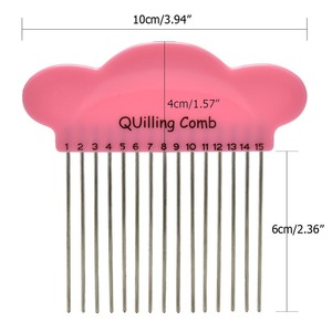 1PC Pink DIY Cloud Paper Quill