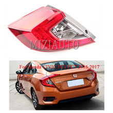 Rear Tail Light For Honda CIVIC FC1 FC7 2016 2017 1PCS Brake 33550-TET-H01 / 33500-TET-H01 Stop Lamp taillight