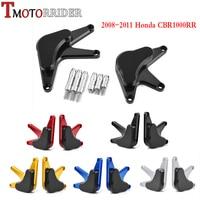 Moto Left Right Engine Stator Guard Cover Frame Crash Slider Cover Protector for 2008 2011 Honda CBR1000RR CBR 1000 RR 2009 2010
