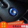 Автомобиль для укладки замочной скважины Кольцо обрезать для AUDI A1 A3 A4 A6 Volkswagen Jetta Поло Гольф 6 GTI Scirocco Tiguan skoda сиденья леон
