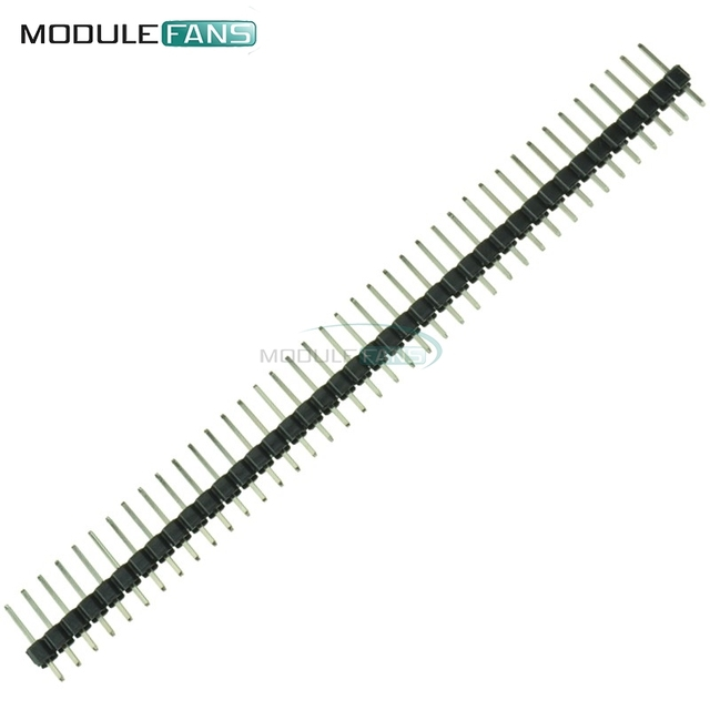 10Pcs Diy Electronic Kit Single Row 40Pin 2.54mm Round Female Pin Header