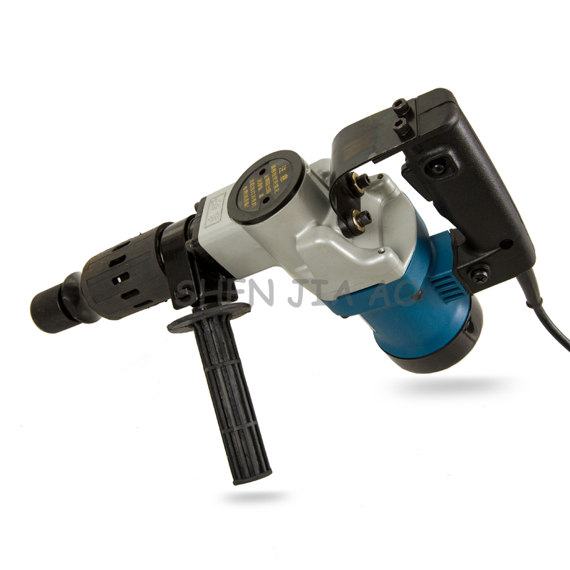 Multi function hand held electric pick Z1G FF 6 electric pick machine chipping away the wall grooves 220V 900W 1PC - 2