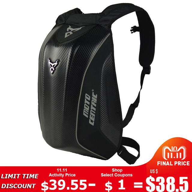 b3504bfdf01 Hombre negro moto rcycle bolsa impermeable moto rcycle mochila gira bolsa  de equipaje moto rbike bolsas