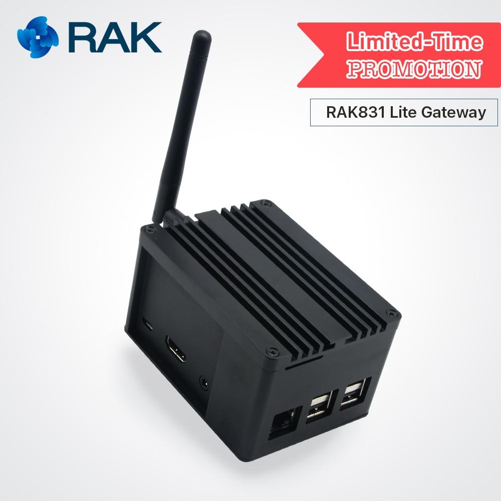 RAK831 Lite Gateway Developer Kit Raspberry Pi3 SX1301 LoRaWan Gateway Modulo con il GPS Lora Antenna per la Dimostrazione PoC Q110