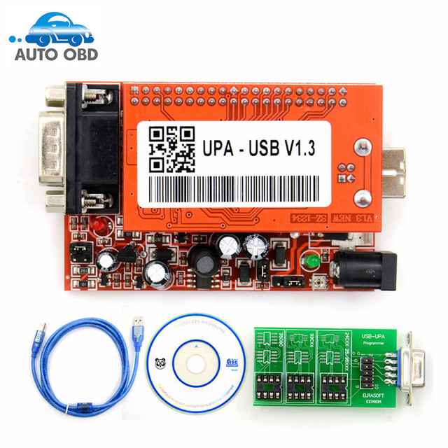 Programador de Chip UPA PROGRAMADOR USB V1.3, unidad principal, UUSP, Eprom, HKP