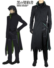Más oscuro que el Negro Hei Cazadora Anime Cosplay Costume
